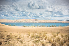 View of The Arcachon Bay, Aquitaine, France Stock Images