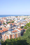 View of Arcachon from a tower in France Royalty Free Stock Photo