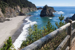 View from Arch Rock trail in Oregon Royalty Free Stock Image