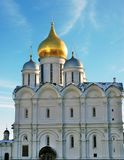 Archangels church in Moscow Kremlin. UNESCO World Heritage Site. View of the Archangels church in Moscow Kremlin, a popular touristic landmark. UNESCO World Stock Photography