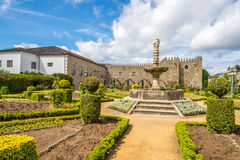 View at the Archbishops Court garden in Braga ,Portugal Stock Images