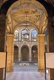 View of archiginnasio - bologna. View of archiginnasio, bologna - italy Royalty Free Stock Photography