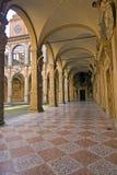 View of archiginnasio - bologna. View of archiginnasio, bologna - italy Royalty Free Stock Photo