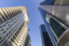 View of the architecture and buildings in Baku, in Azerbaijan. V Royalty Free Stock Image