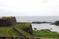 View of the architecture of the Fort Galle Stock Images