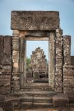 Phnom Bakheng in Siem Reap, cambodia. View of an architecture inside Phnom Bakheng in Siem Reap, cambodia Stock Images