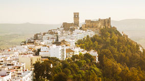 View of Arcos de la Frontera. Cadiz Royalty Free Stock Photo