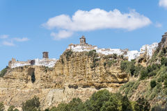 View of Arcos de la Frontera, Spain Stock Image