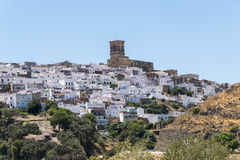 View of Arcos de la Frontera, Spain Stock Photography