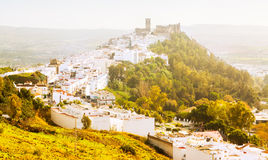 View of Arcos de la Frontera Royalty Free Stock Photography