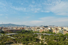 View From Arenas De Barcelona Royalty Free Stock Image