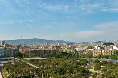 View From Arenas De Barcelona Royalty Free Stock Images