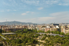 View From Arenas De Barcelona Stock Photography