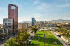 View From Arenas De Barcelona Royalty Free Stock Photo