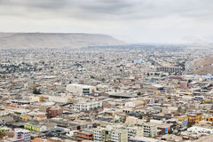 View of Arica city, Chile Royalty Free Stock Photos