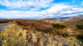View from Arizona SR260 of Grand Canyon Rim Country just east of the town of Camp Verde. In Northern Arizona royalty free stock photography