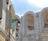 View on Arles Royalty Free Stock Images