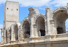 View on Arles Royalty Free Stock Photos