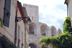 View on Arles Royalty Free Stock Photography