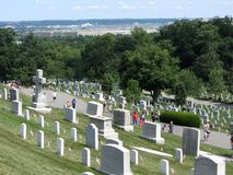 View From Arlington Cemetery Royalty Free Stock Photography