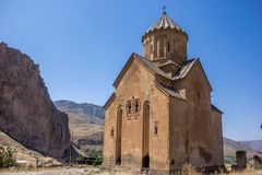 The Armenian Traditional Church. View of The Armenian Traditional Church in Mountains royalty free stock images