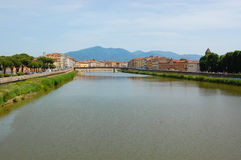 View on Arno Royalty Free Stock Photography