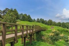 View  around kikuchi castle Stock Images