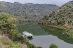 View of Arribes del Duero natural Park Stock Images