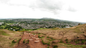 View from Arthur's Seat, Edinburgh Royalty Free Stock Photos