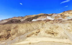 View of Artists Palette, Death Valley, USA Stock Image