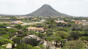 View of Aruba stock photography