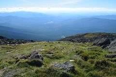 View from Mount Chocorua, New Hampshire royalty free stock image