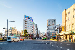 View of Asakusa district in Tokyo, Japan Royalty Free Stock Photography