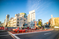 View of Asakusa district in Tokyo, Japan Stock Photography