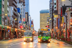 View of Asakusa district in Tokyo, Japan Stock Images