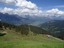 View from Asitzhoehe, Austria Royalty Free Stock Images