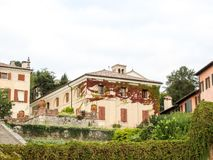 View on Asolo. In the province of Treviso Veneto Italy Royalty Free Stock Image