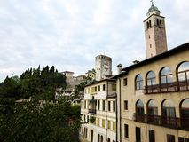 View on Asolo. In the province of Treviso Veneto Italy Royalty Free Stock Photos