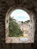 View on Asolo. In the province of Treviso Veneto Italy Stock Photography