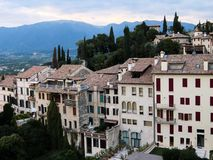 View on Asolo. In the province of Treviso Veneto Italy Royalty Free Stock Photography