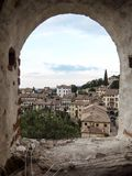 View on Asolo. In the province of Treviso Veneto Italy Stock Photos