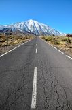 View of an Asphalt Road Royalty Free Stock Photo
