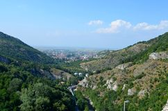View from Assens fortress Royalty Free Stock Images