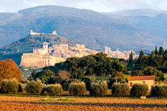 View of Assisi Stock Image