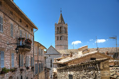 View of Assisi. Umbria. Royalty Free Stock Photography