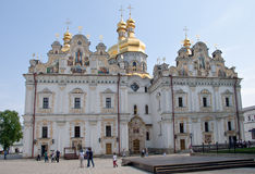 View of Assumption Cathedral in Kiev Pechersk Lavra, Ukraine Royalty Free Stock Photos