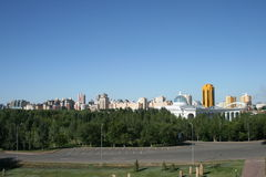 View at Astana city Stock Images