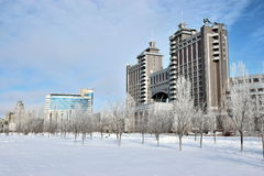 A view in Astana / Kazakhstan Stock Photography