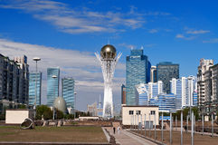View of Astana modern city Royalty Free Stock Images