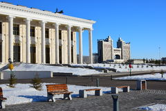View in Astana in winter Royalty Free Stock Images